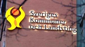 Sveriges kommuner och landsting skylt